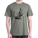 Rainbow Democrat Dark T-Shirt