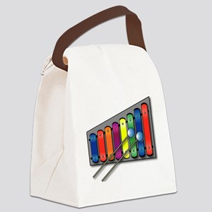 Xylophone Canvas Lunch Bag