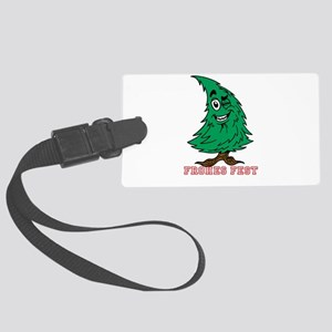 Frohes Fest-selectable Text Luggage Tag