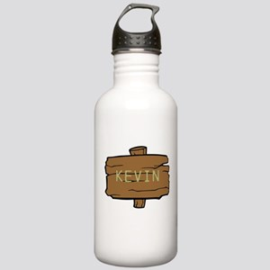 NAME, selectable Text Water Bottle