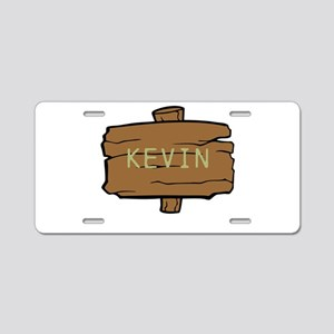 NAME, selectable Text Aluminum License Plate