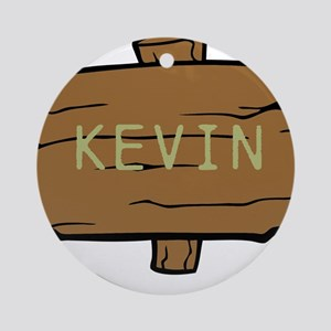NAME, selectable Text Ornament (Round)
