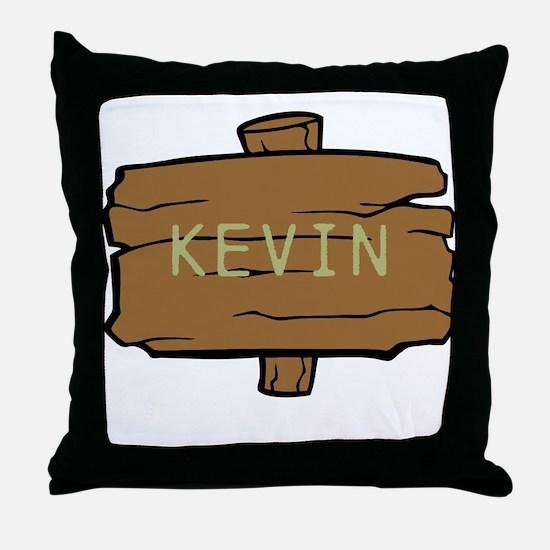 NAME, selectable Text Throw Pillow