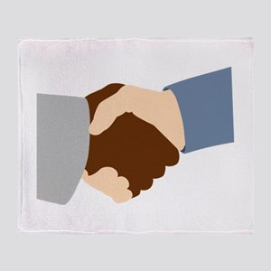 Handshake Throw Blanket