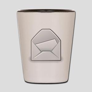 Envelope Shot Glass