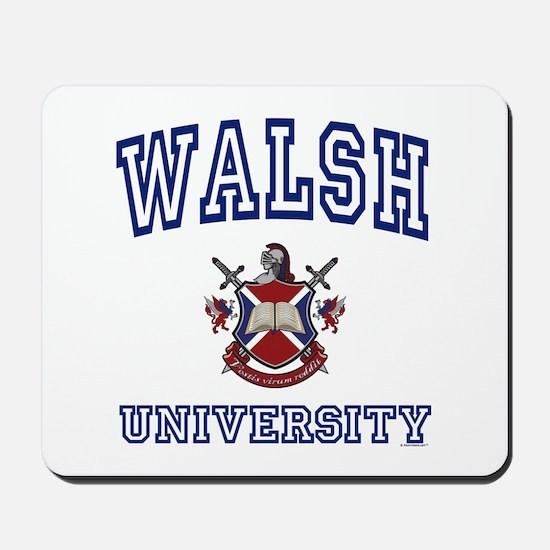 WALSH University Mousepad