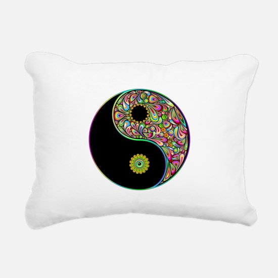 Yin Yang Symbol Psychedelic Colors Rectangular Can