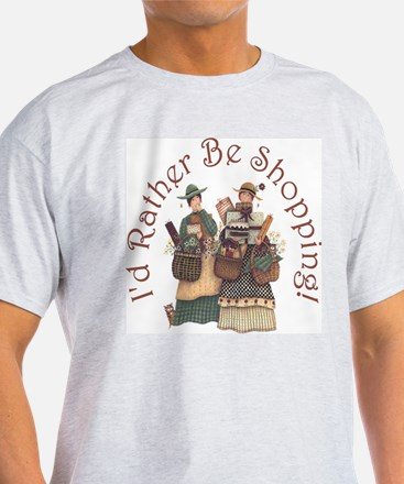 I'd Rather Be Shopping! T-Shirt