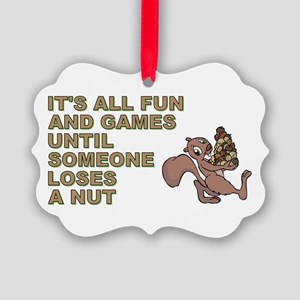 IT'S ALL FUN AND GAMES... Picture Ornament