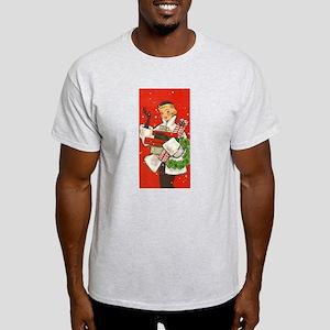 Vintage lady shoppping T-Shirt