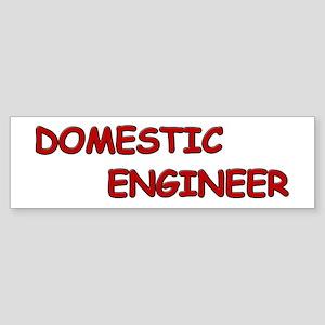 Domestic Engineer Sticker (Bumper)