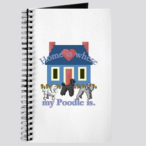 Poodle Lovers Gifts Journal