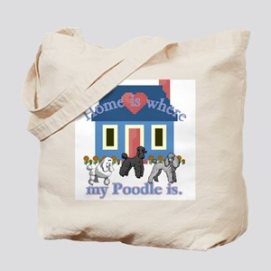 Poodle Lovers Gifts Tote Bag
