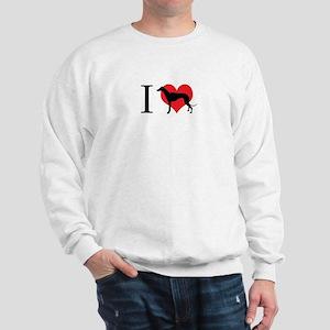 I Love Galgos Sweatshirt