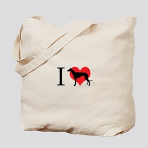 I Love Galgos Tote Bag