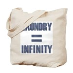 Laundry = Infinity Tote Bag