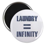 Laundry = Infinity Magnet