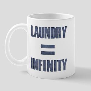 Laundry = Infinity Mug