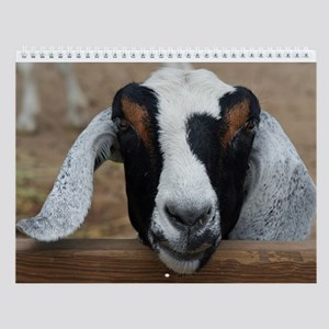 Farm Animals Wall Calendar