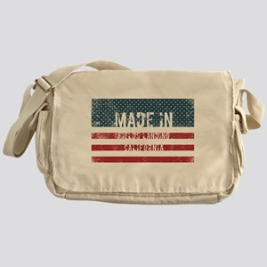 Made in Fields Landing, California Messenger Bag