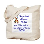 Autism Patience Tote Bag