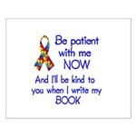 Autism Patience Small Poster