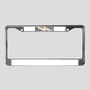 Bear Pride Bottom License Plate Frame