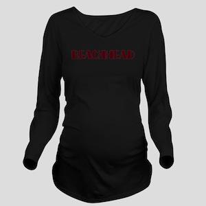 Beachhead10 Long Sleeve Maternity T-Shirt