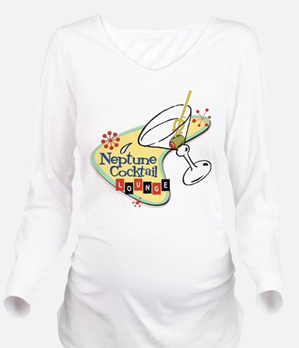 NeptuneCocktail10.png Long Sleeve Maternity T-Shir