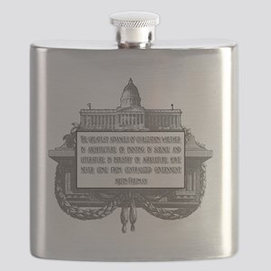 Milton Friedman on Civilization 2 Flask
