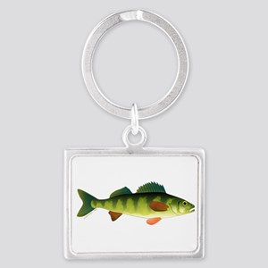 Yellow perch 2 Keychains