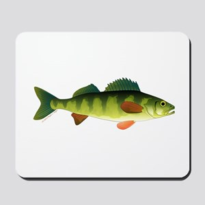 Yellow perch 2 Mousepad