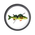 Yellow perch 2 Wall Clock