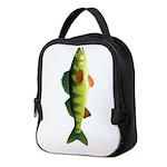 Yellow perch c2 Neoprene Lunch Bag