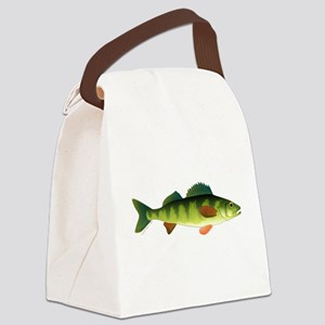Yellow perch c2 Canvas Lunch Bag