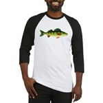 Yellow perch c2 Baseball Jersey