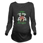 Organic Pirate Long Sleeve Maternity T-Shirt