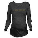 Worm Burner Long Sleeve Maternity T-Shirt