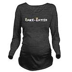 Cake-Eater10x8 Long Sleeve Maternity T-Shirt