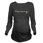 Canary10x8 Long Sleeve Maternity T-Shirt