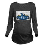 SRFBOY Long Sleeve Maternity T-Shirt