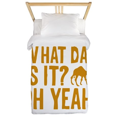 What Day Is It? Oh Yeah! Twin Duvet