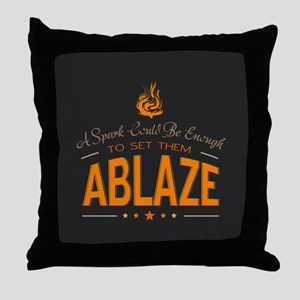 A Spark Could Be Enough Throw Pillow