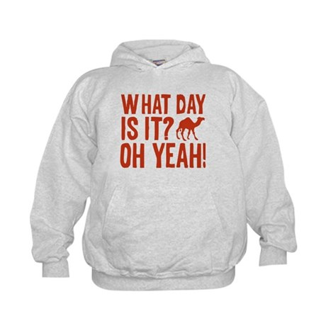 What Day Is It? Oh Yeah! Kids Hoodie