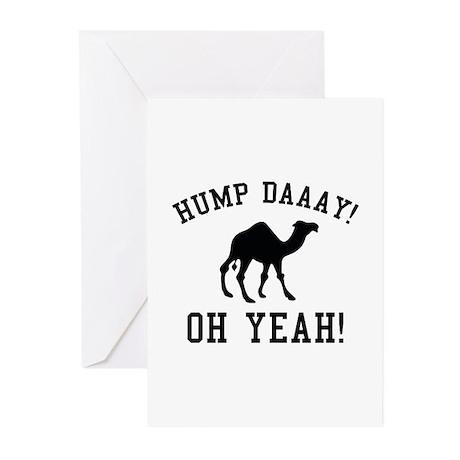 Hump Daaay! Oh Yeah! Greeting Cards (Pk of 20)