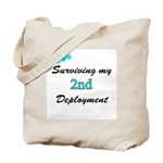 USCG Wife Surviving 2nd Deployment  Tote Bag