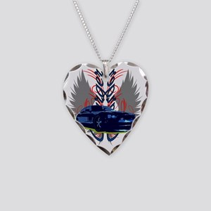 Charger Necklace Heart Charm