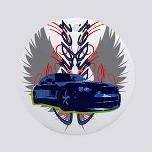Charger Round Ornament