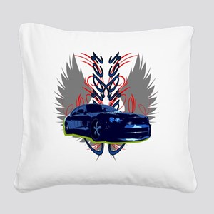 Charger Square Canvas Pillow