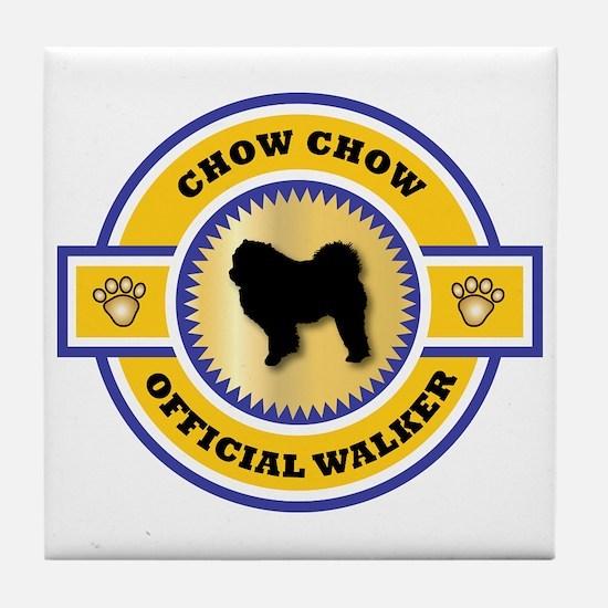 Chow Walker Tile Coaster